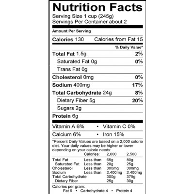 recipe: barley nutrition facts [3]
